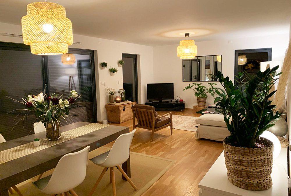 La transformation d'un appartement strasbourgeois